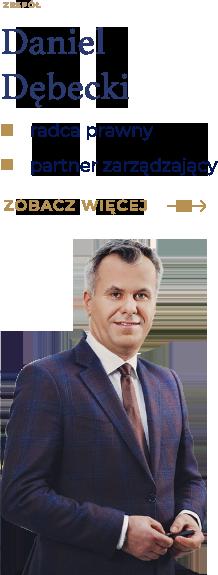 Radca prawny Daniel Dębecki